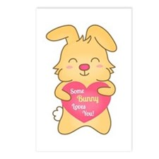 Some bunny loves you, cute humor Postcards (Packag