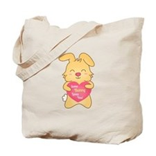 Some bunny loves you, cute humor Tote Bag