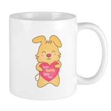 Some bunny loves you, cute humor Mugs