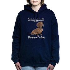 Dachshund Mom Hooded Sweatshirt