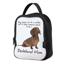 Dachshund Mom Neoprene Lunch Bag