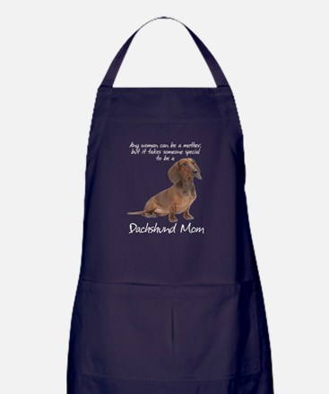 Dachshund Mom Apron (dark)