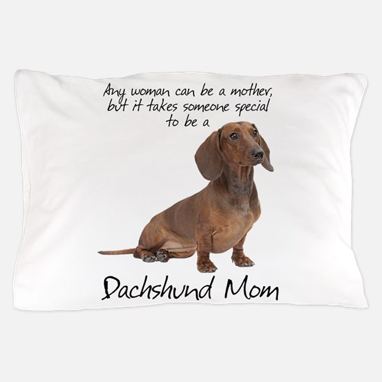 Dachshund Mom Pillow Case