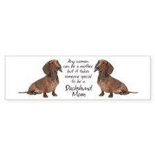 Dachshund Mom Bumper Bumper Sticker