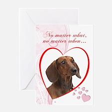 Dachshund Valentine Cards