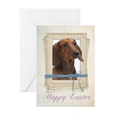 Dachshund Easter Cards