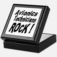 Avionics Techs Rock ! Keepsake Box