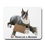 Rescue a Boxer Mousepad