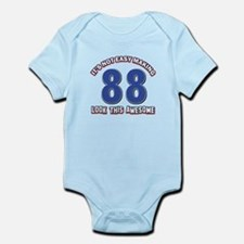 88 year old birthday designs Infant Bodysuit