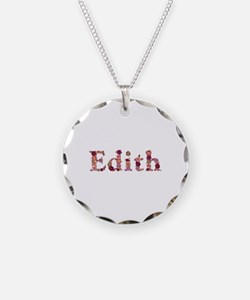 Edith Pink Flowers Necklace