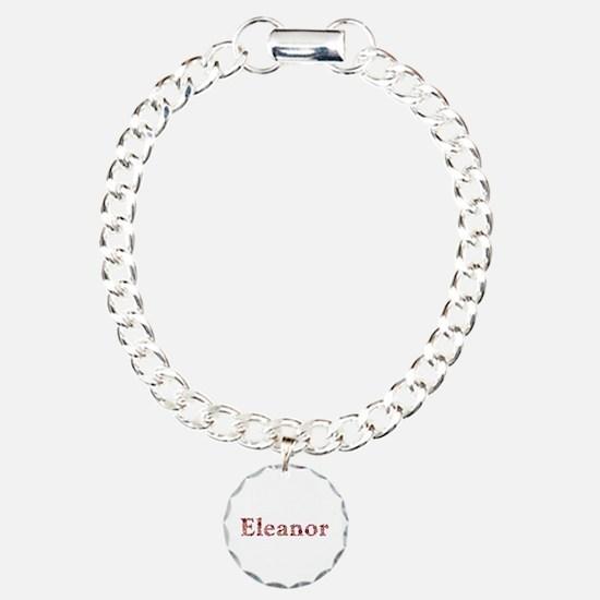 Eleanor Pink Flowers Bracelet