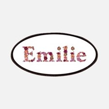 Emilie Pink Flowers Patch