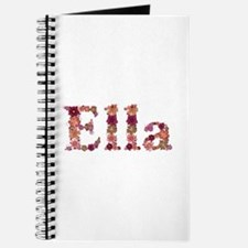 Ella Pink Flowers Journal