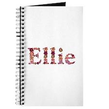 Ellie Pink Flowers Journal