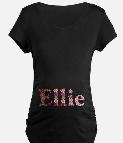 Ellie Pink Flowers T-Shirt