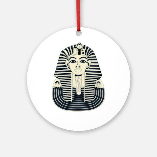 King Tut Ornament (Round)