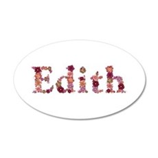 Edith Pink Flowers Wall Decal