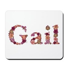 Gail Pink Flowers Mousepad