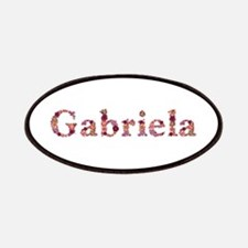 Gabriela Pink Flowers Patch