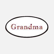 Grandma Pink Flowers Patch