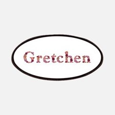 Gretchen Pink Flowers Patch