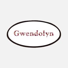 Gwendolyn Pink Flowers Patch