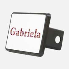 Gabriela Pink Flowers Hitch Cover