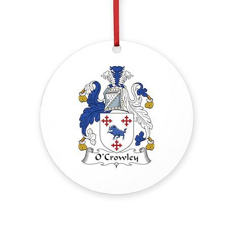 O'Crowley Ornament (Round)