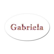 Gabriela Pink Flowers Wall Decal