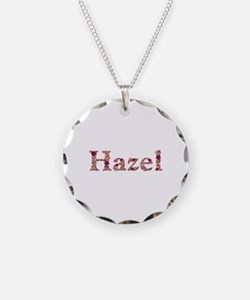 Hazel Pink Flowers Necklace