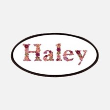 Haley Pink Flowers Patch