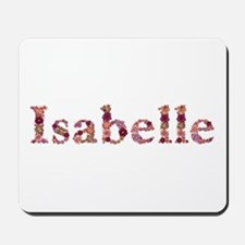 Isabelle Pink Flowers Mousepad