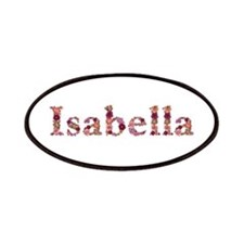 Isabella Pink Flowers Patch
