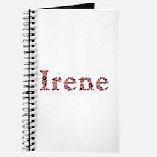 Irene Pink Flowers Journal