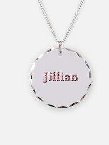 Jillian Pink Flowers Necklace