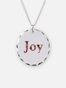 Joy Pink Flowers Necklace