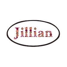 Jillian Pink Flowers Patch