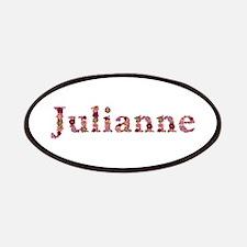 Julianne Pink Flowers Patch