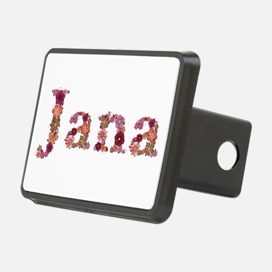 Jana Pink Flowers Hitch Cover