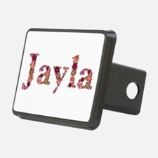 Jayla Pink Flowers Hitch Cover