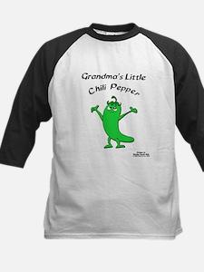 Grandma's Little Chili Pepper Kids Baseball Jersey