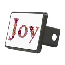 Joy Pink Flowers Hitch Cover