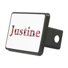 Justine Pink Flowers Hitch Cover