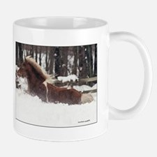 Snow Pony Mugs