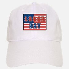 USA Labor Day Baseball Baseball Cap
