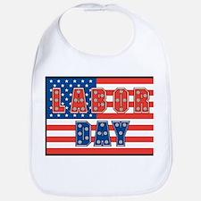 USA Labor Day Bib