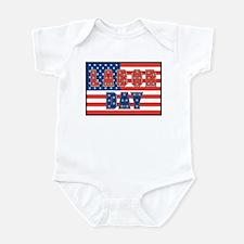 USA Labor Day Infant Bodysuit