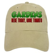 Gardens Here Today Gone Tomato Baseball Baseball Cap