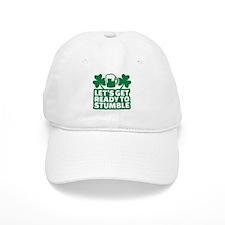 Let's get ready to stumble beer shamrocks Baseball Cap