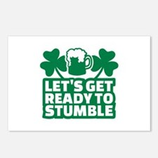 Let's get ready to stumbl Postcards (Package of 8)